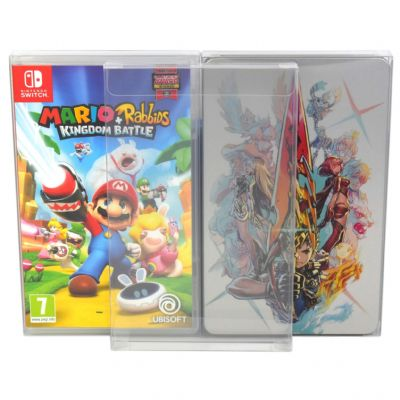 GP14 Switch Game Box / Steelbook Protectors